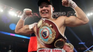 Oct. 19, 2013, Denver,CO.  ---    Ruslan Provodnikov(pictured) of Russia  stops  Mike Alvaradoin the  10th round to win the  WBO Jr. Welterweight title, Saturday at the 1STBANK Center in Denver,Co.   --- Photo Credit : Chris Farina - Top Rank (no other credit allowed) copyright 2013